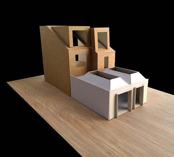 rear extension, bristol, bristol extension, modern extension, courtyard extension, funnel, rooflights, henleaze, redland, howard road