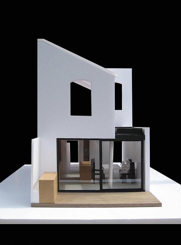 Torbay Road, side extensin, London, architect mdel, family house, opn plan kitchen, dining area, bi fold doors