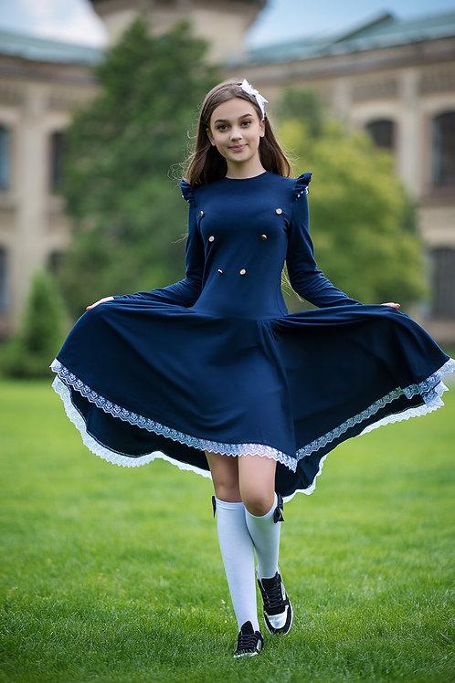 Платье School Elite Blue