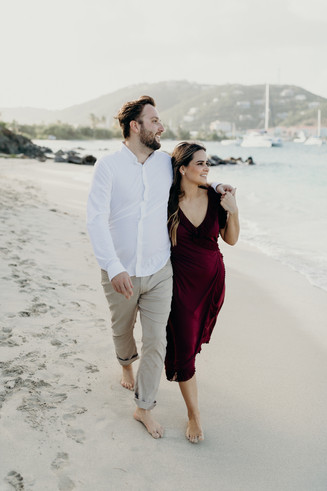 Fun Romantic Couples Session on the Beach on St. Thomas in the Virgin Islands | Cruz Bay | Caribbean Wedding | St. Croix Wedding Photographer | St. Thomas Wedding | Tropical Honeymoon | Secret Harbour Beach Resort | Beach Engagement Photos | Charlotte Amalie | Sailing Harbor | Caribbean Sea | Destination Wedding Photographer | Traveling Photographer | Hike to Elope | Rad Couples | St. Thomas | Island Vibes | Adventurous Island Elopement | Virgin Islands | Meredith Zimmerman Photography