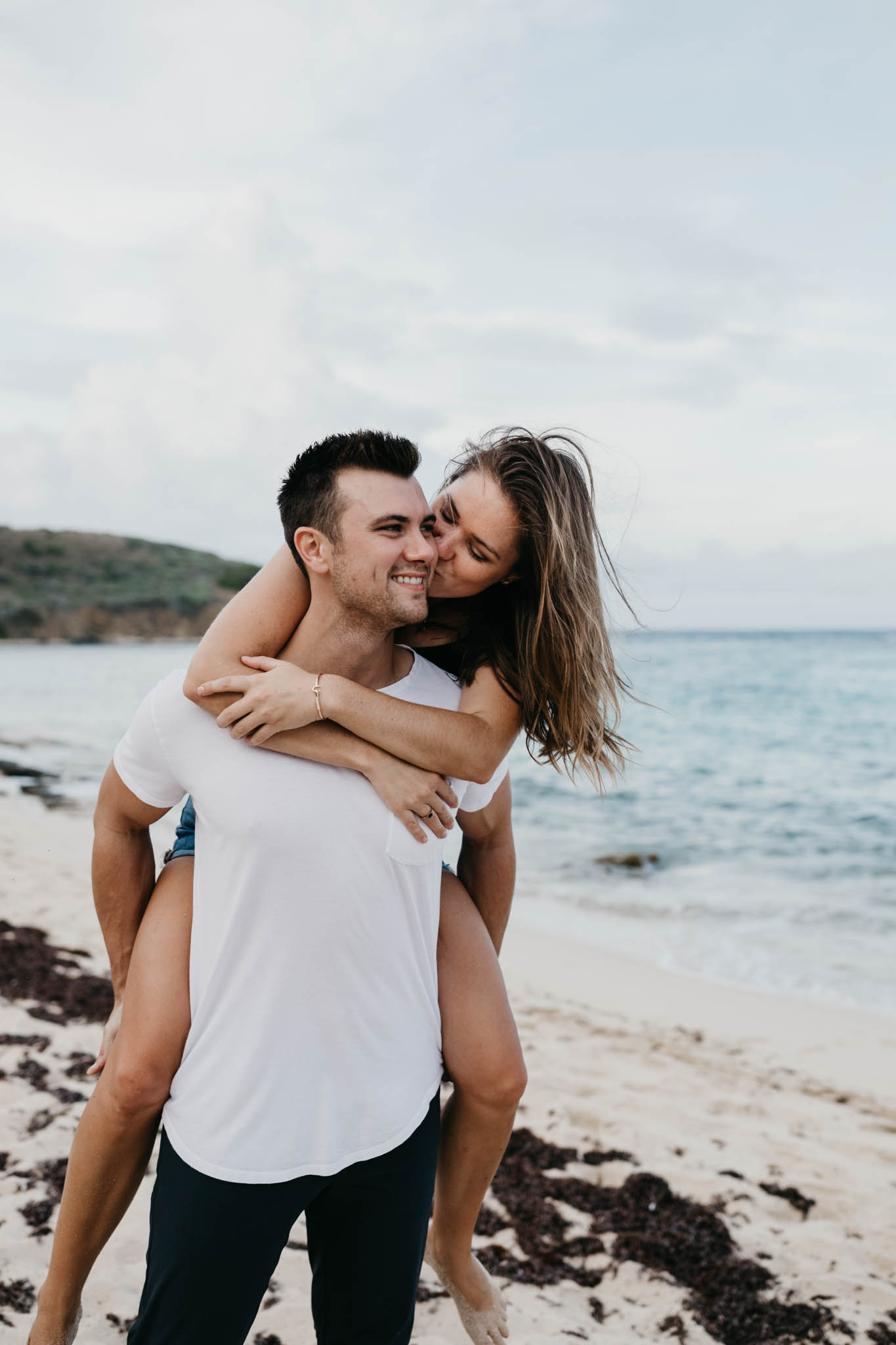 Hiking Couples Proposal on the Beach on St. Croix in the Virgin Islands | Cruz Bay | Caribbean Wedding | St. Croix Wedding Photographer | St. John Wedding | Tropical Honeymoon | Destination Honeymoon | Beach Engagement Photos | Charlotte Amalie | Love and Wild Hearts | Caribbean Sea | Destination Wedding Photographer | Traveling Photographer | Hike to Elope | Rad Couples | St. Thomas | Island Vibes | Adventurous Island Elopement | Virgin Islands | Meredith Zimmerman Photography