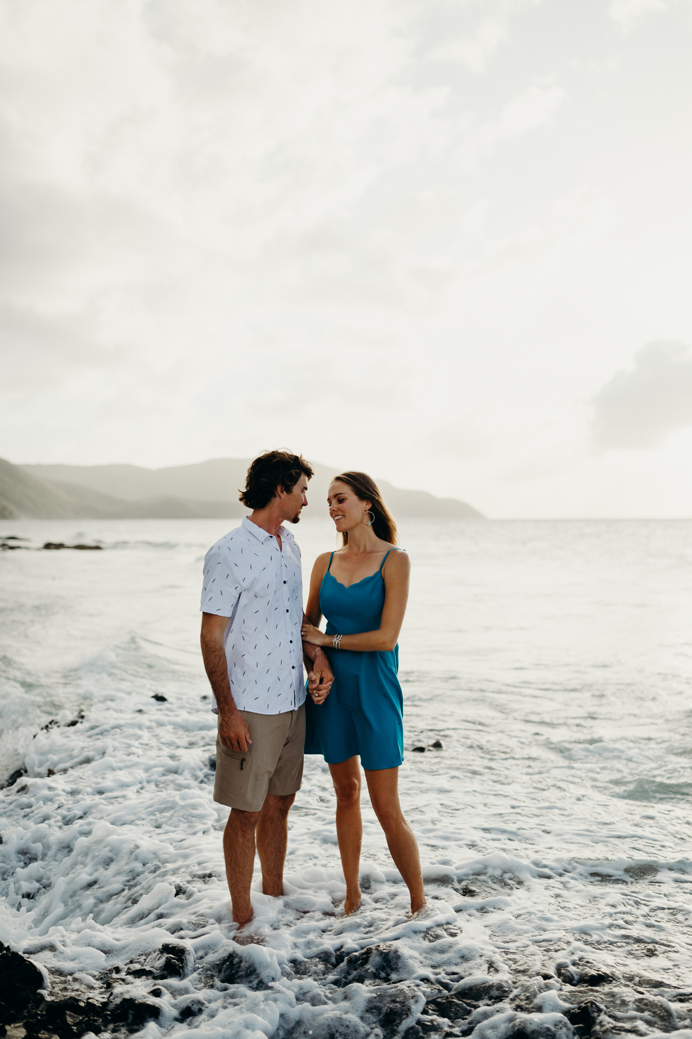 North Shore Engagement Session on the Beach on St. Croix in the Virgin Islands | Cruz Bay | Caribbean Wedding | St. Croix Wedding Photographer | St. Thomas Wedding | Tropical Honeymoon | Frederiksted Pier | Beach Couples Photos | Charlotte Amalie | Palm Trees | Caribbean Sea | Destination Wedding Photographer | Traveling Photographer | Hike to Elope | Rad Couples | St. Thomas | Island Vibes | Adventurous Island Elopement | Virgin Islands | Meredith Zimmerman Photography