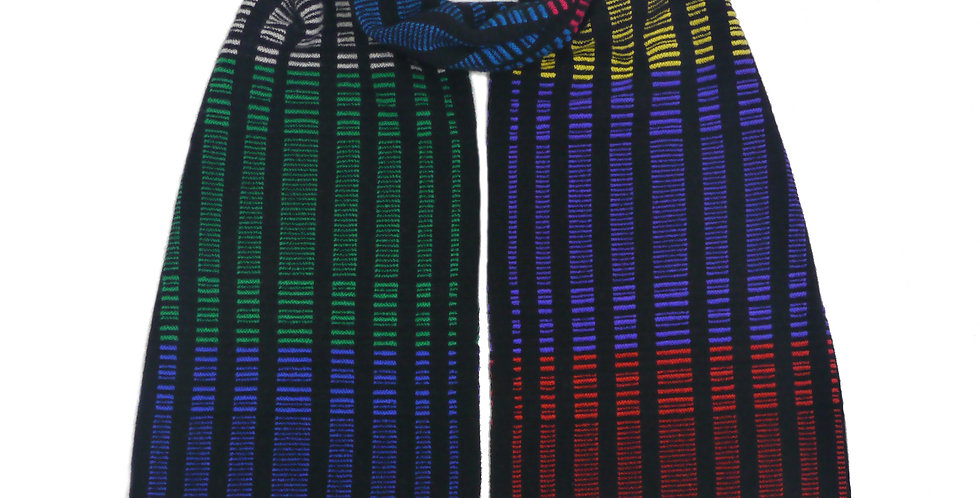 DNA Cashmere Scarf Rainbow Multi