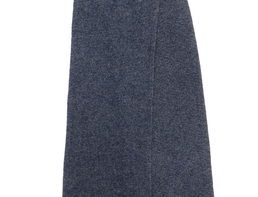 Spensa Cashmere Scarf  Grey - Navy