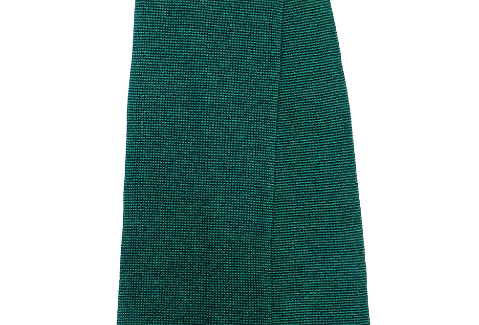 Spensa Cashmere Scarf  Green - Navy