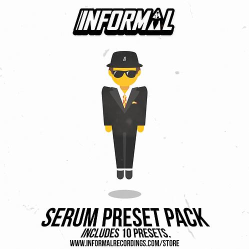 INFORMAL SERUM PRESET PACK 1