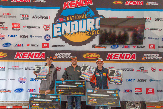 Results from Sumter National Enduro