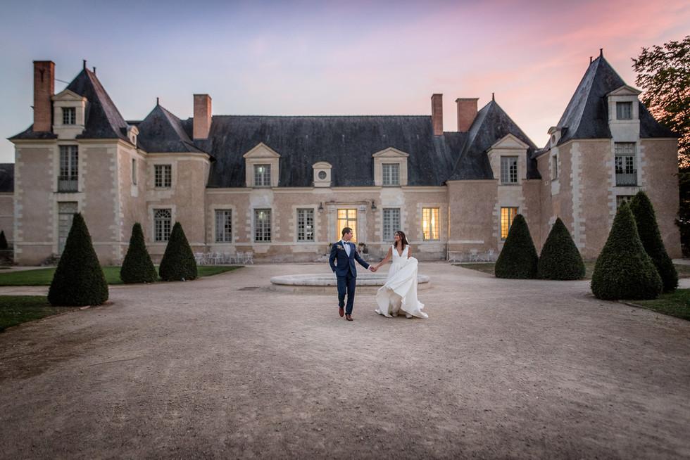 photographe Angers mariage Avrillé chateau de la Perriere