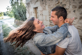 Photo amoureux seance couple Angers