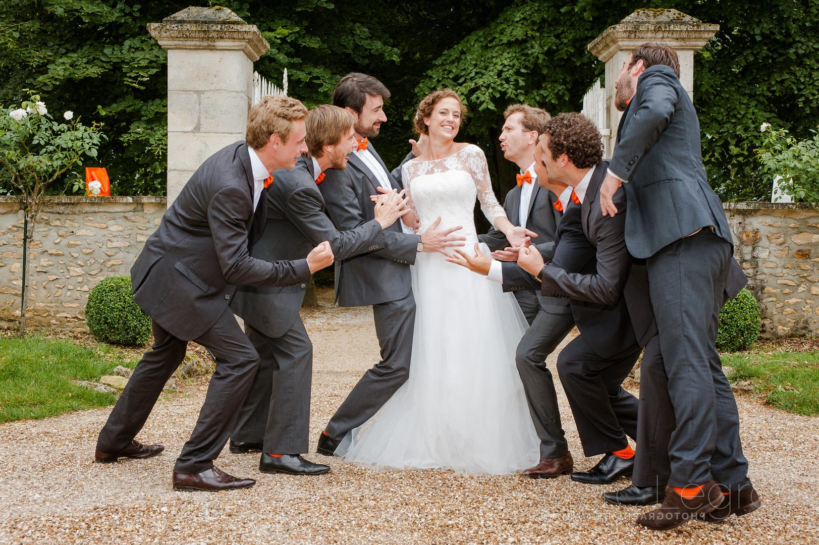 photographe Angers mariage amis