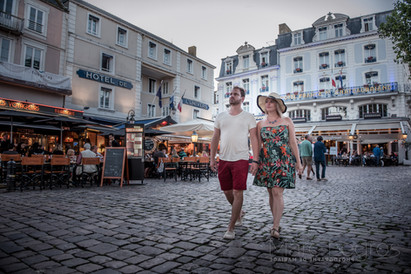 photo de couple rue St Malo.