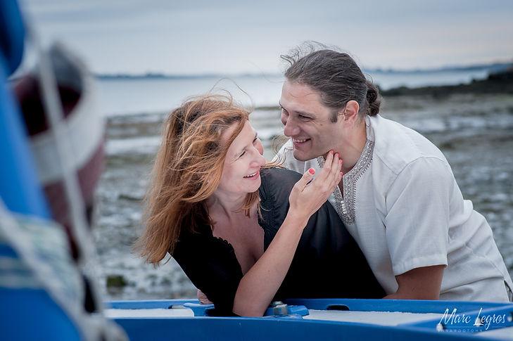 Photographe à Montreuil juigné maine et Loire - Shooting couple à Montreuil Juigné