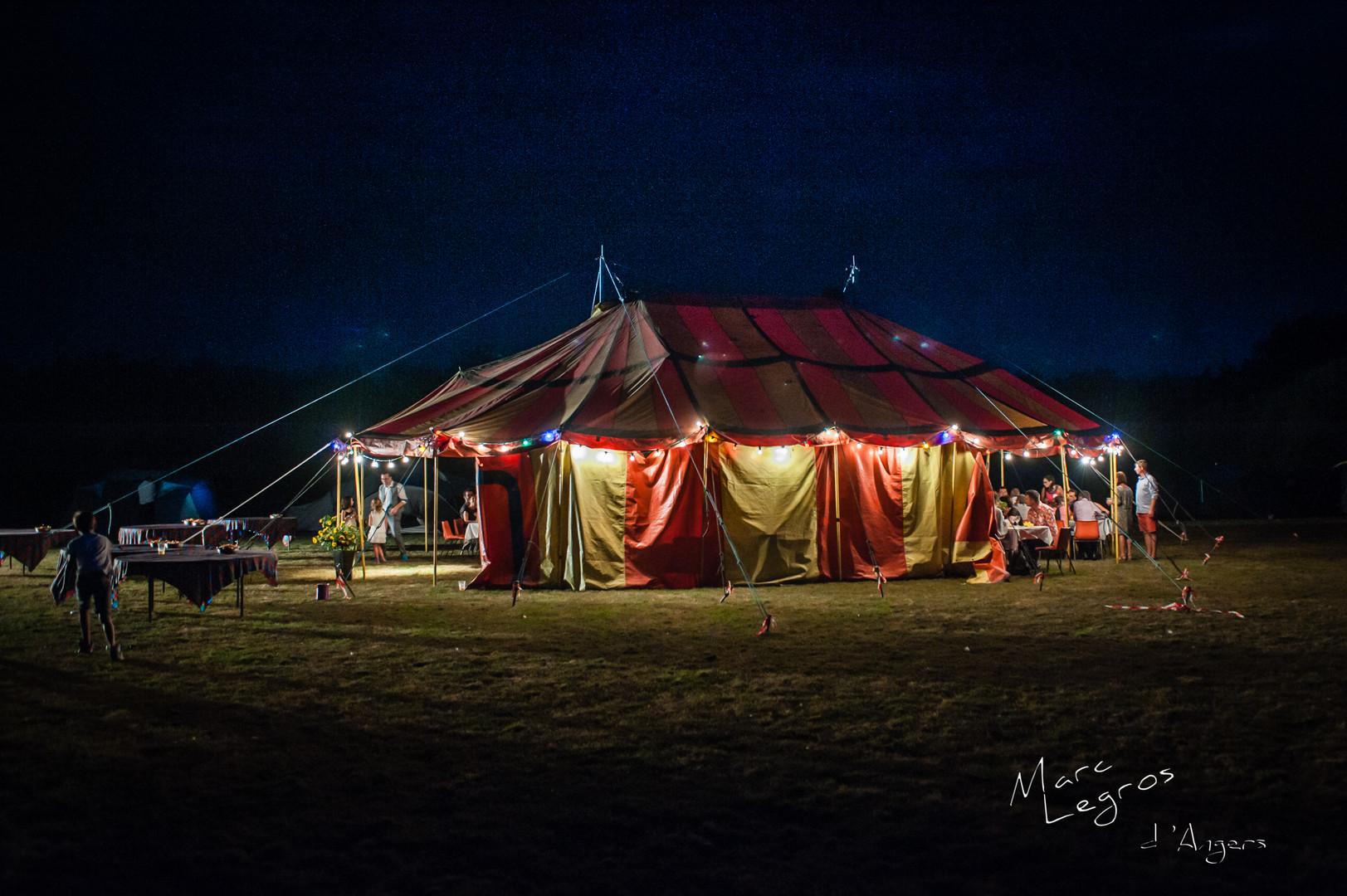 photographe mariage Angers cirque