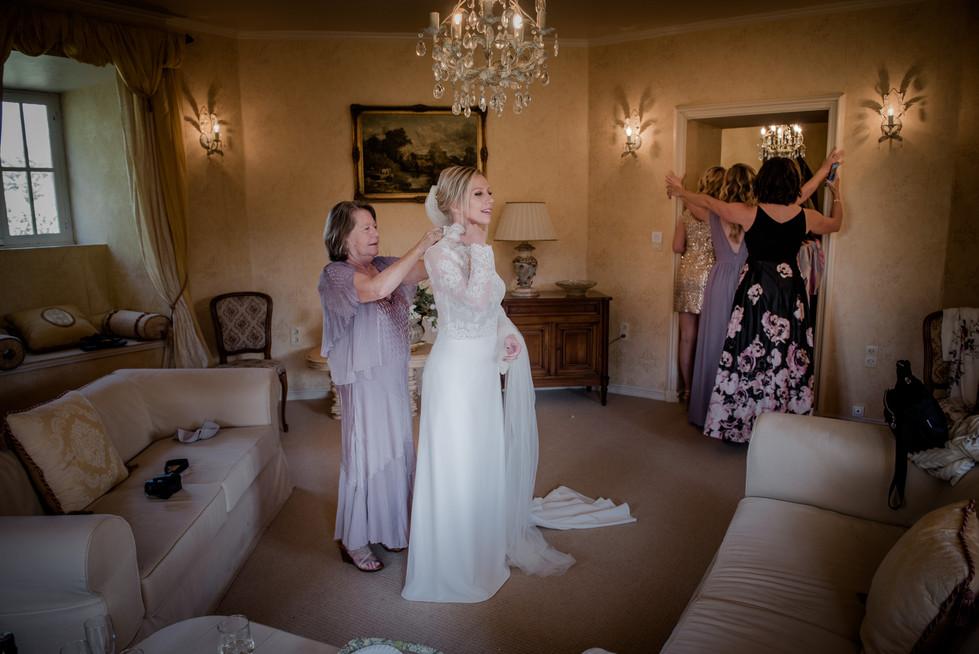 photographe mariage Angers  chateau Allure du Lac Grez neuville