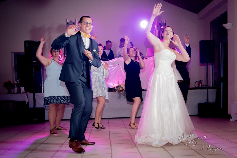 photographe angers mariage premiere dance