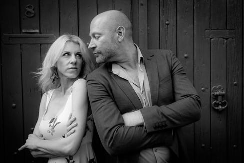 seance couple noir et blanc angers France