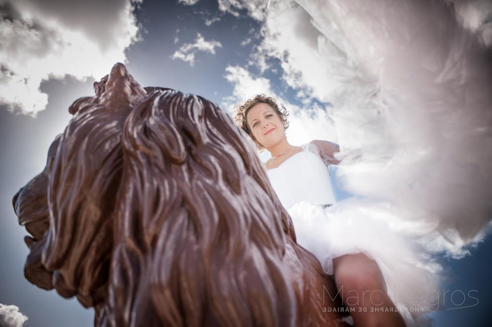 photographe mariage Angers cités des Anges