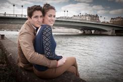 couple amoureux a Paris