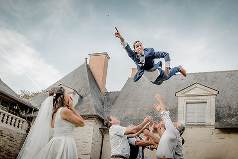 Photographe Angers Mariage chateau d'Angers.