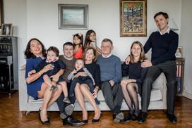 Photo de famille a la maison Angers