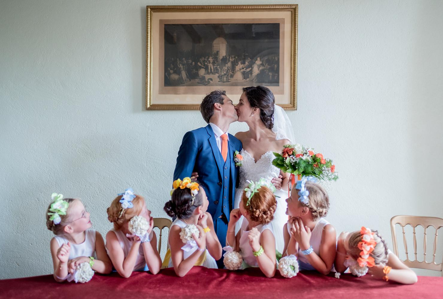 Ceremonie de mariage a Montreuil Juigné Anjou