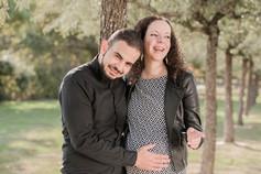 shooting femme enciente et bébé a Angers