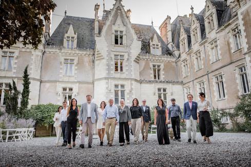 photo de famille élargie Angers france