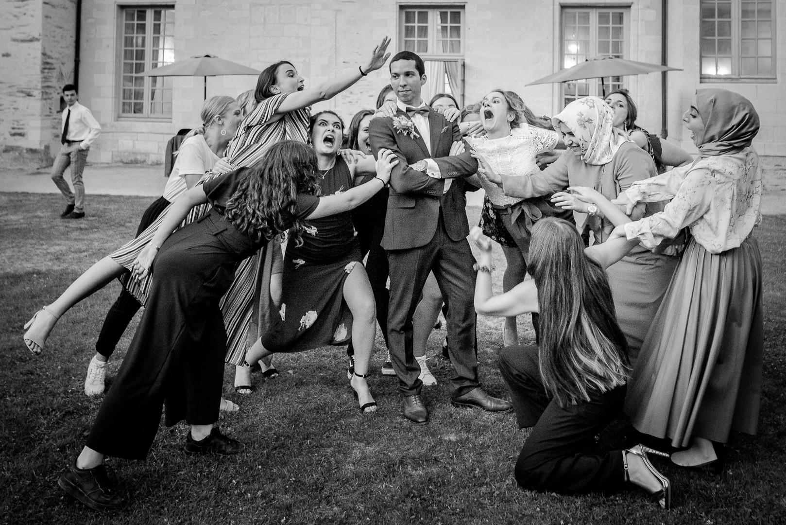photographe mariage Angers chateua de la perriere