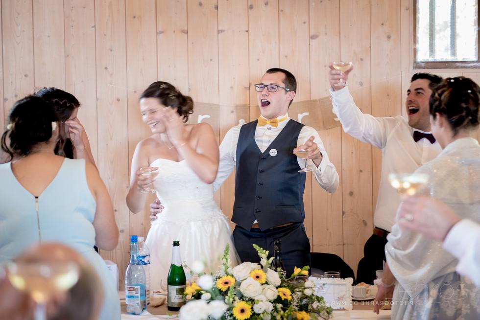 photographe angers de mariage repas