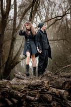 shooting couple hivers Angers