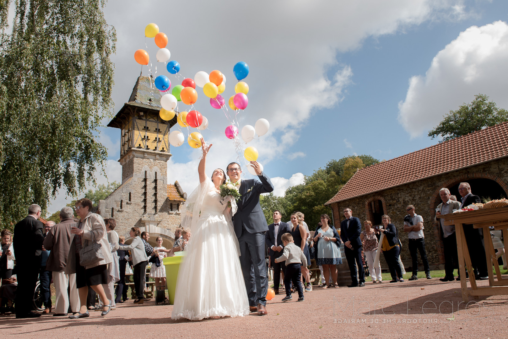 Photographe couleur mariage Angers France