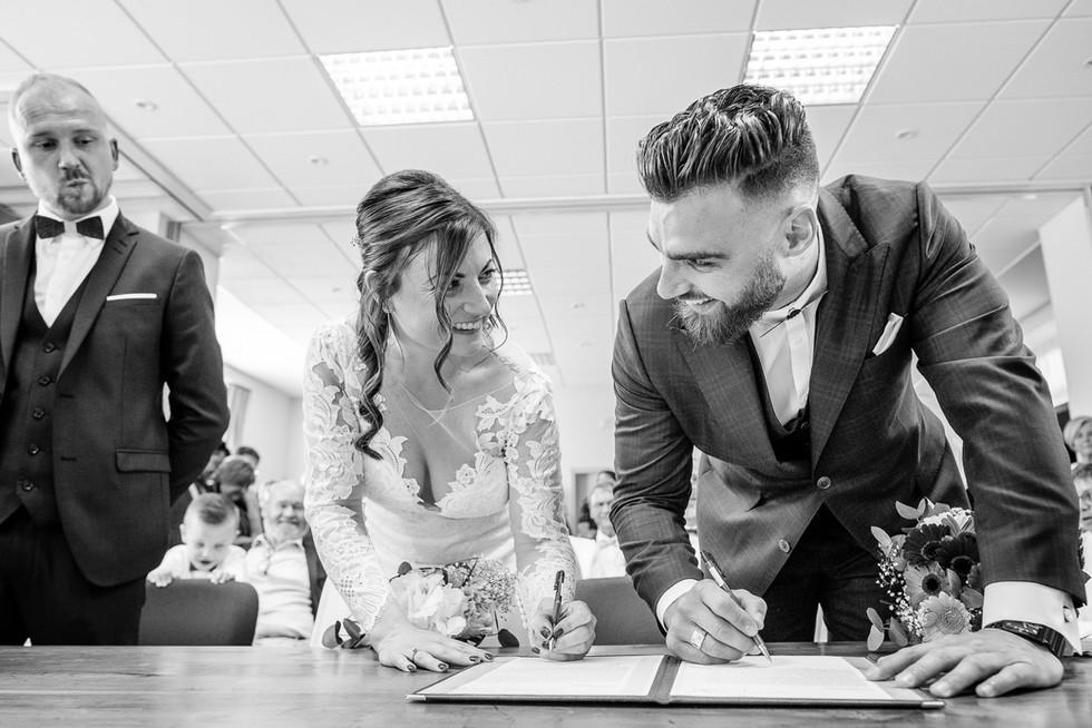 photographe mariage Angers signature