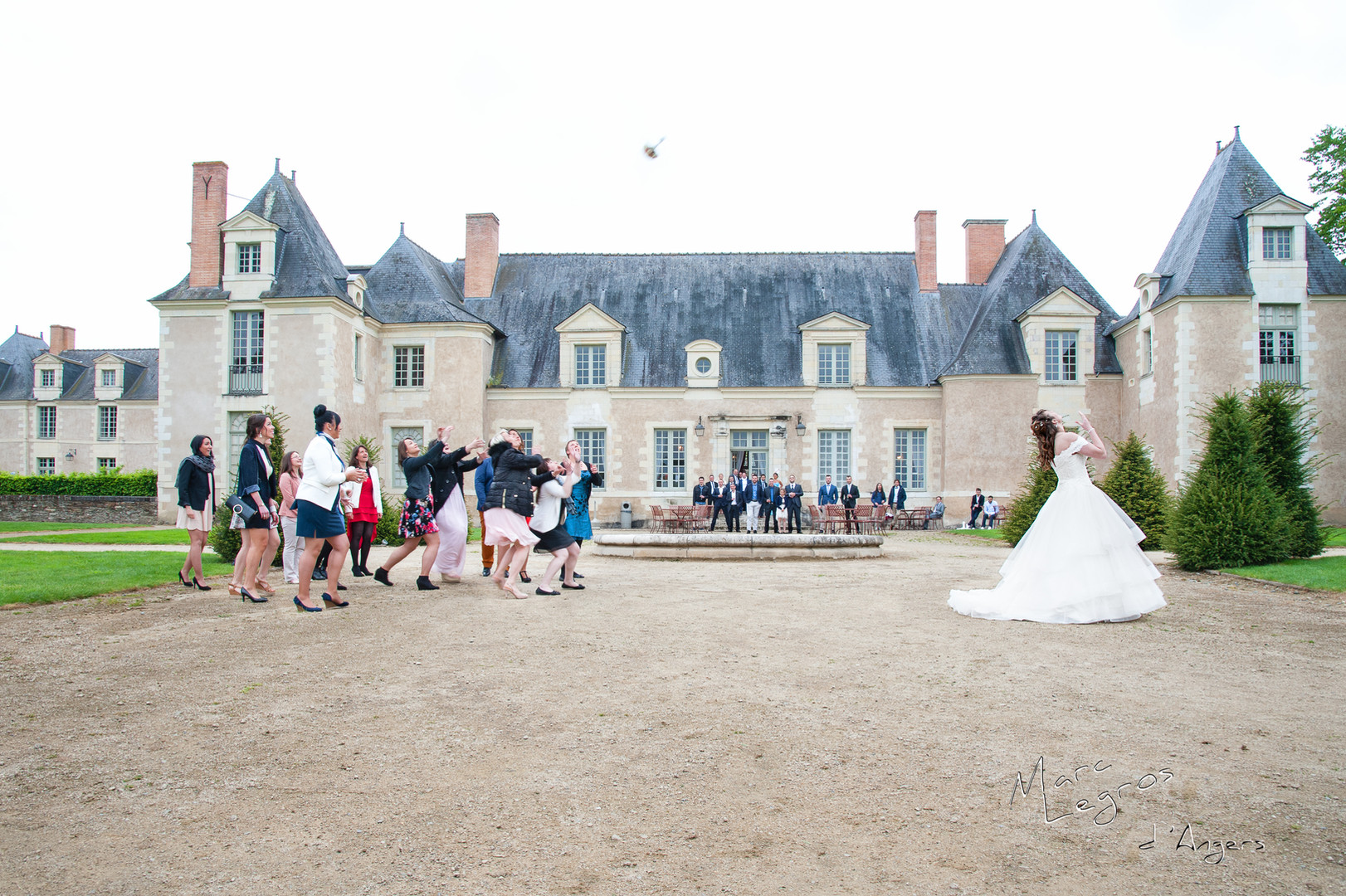 photographe mariage Angers chateau de la Perriere