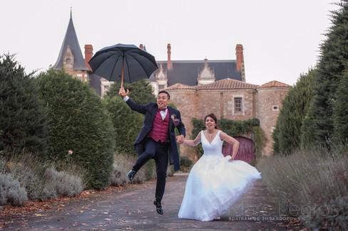 photographe Angers Mariage chateau de la Colaissiere