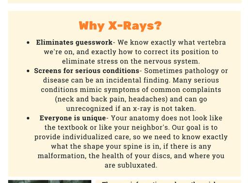 Chiropractic & X-Rays