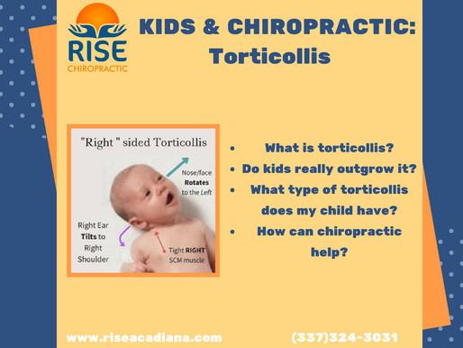 """Torticollis AKA """"Wryneck""""- Kids & Chiropractic pt. 4"""