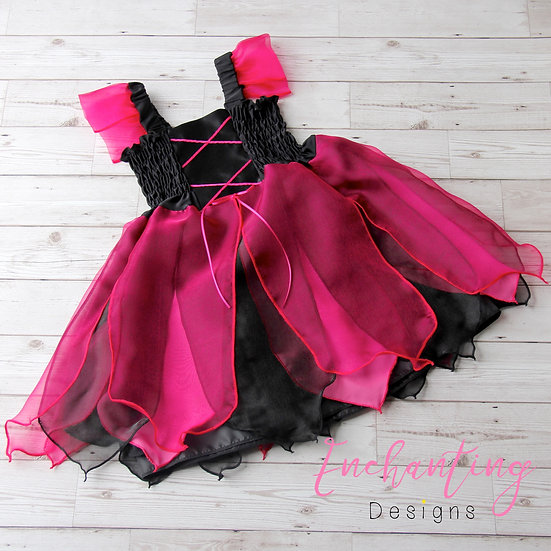 Hot Pink Witches Dress