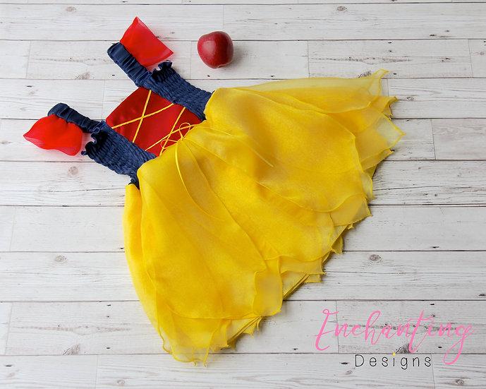 Snow White Inspired Costume Dress