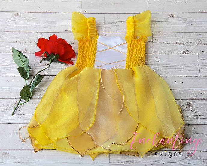 Belle Inspired Costume Dress