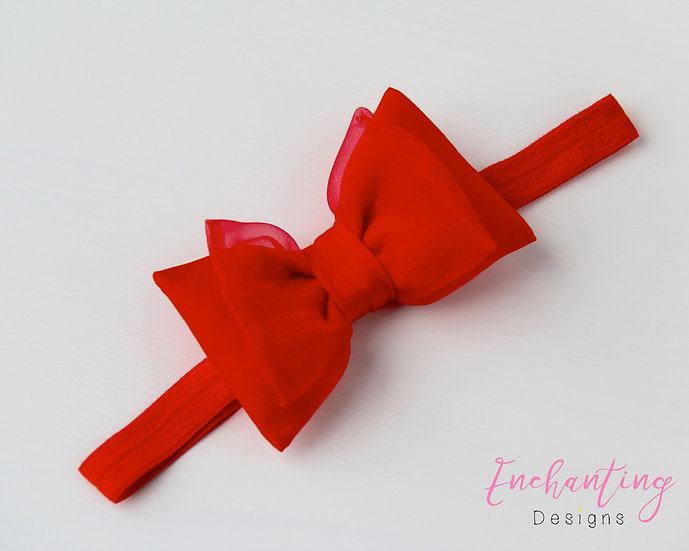 Red Fairy Headband