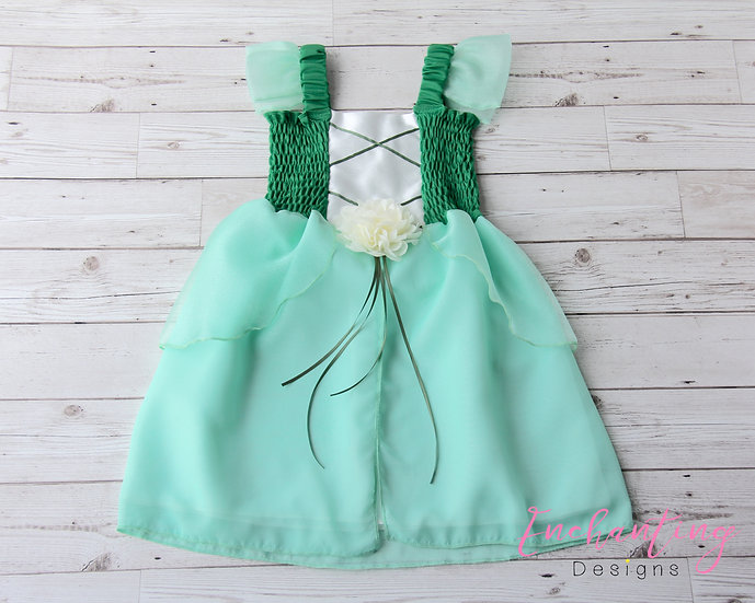Princess and the Frog Inspired Dress