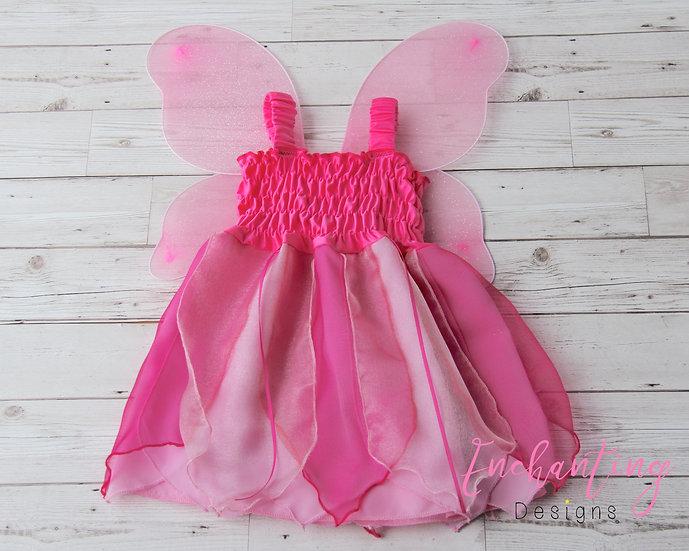 Cerise Fairy Dress
