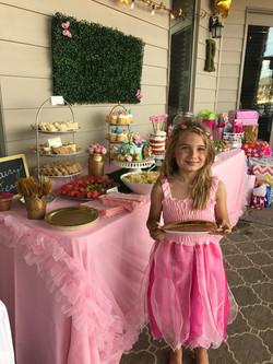 Hot Pink Fairy Dress