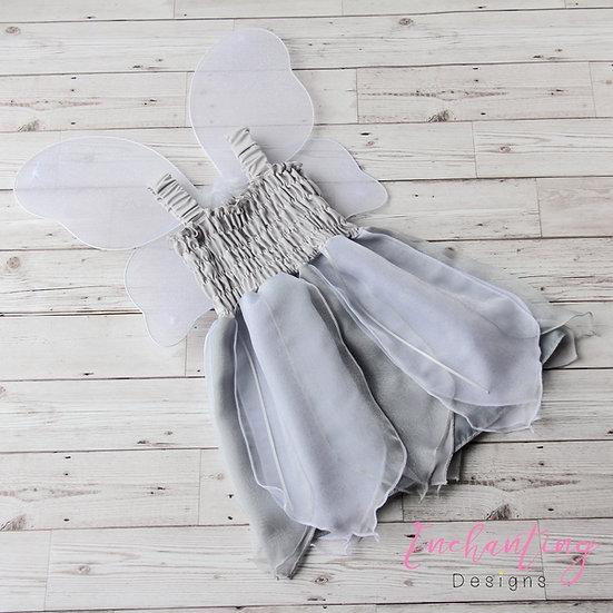 Grey Fairy Dress
