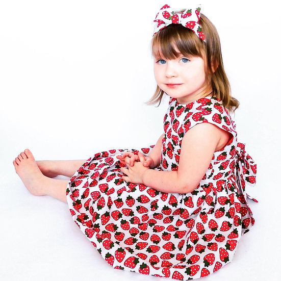 Strawberry Classic Dress