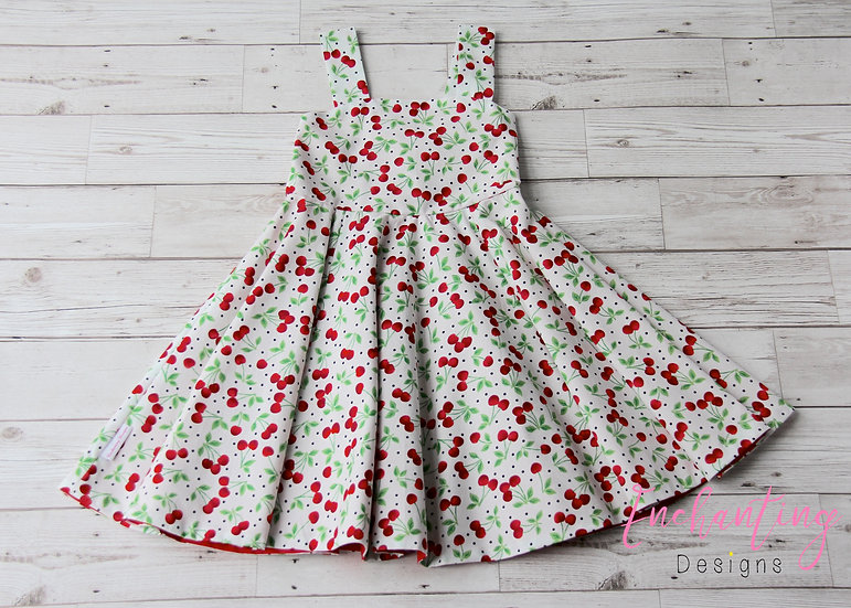 Cherry Retro Dress