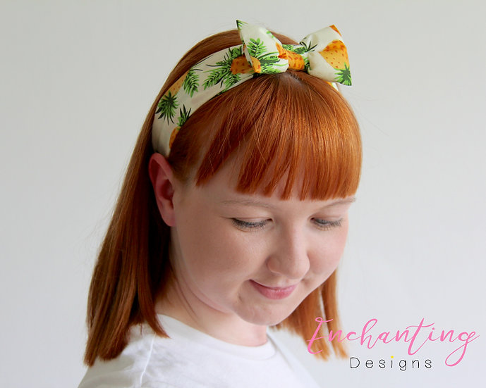 Pineapple Retro Headband