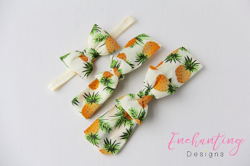 Pineapple Mum & Baby Set