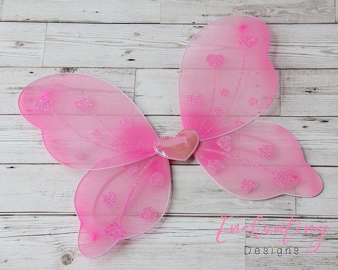 Heart Fairy Wings