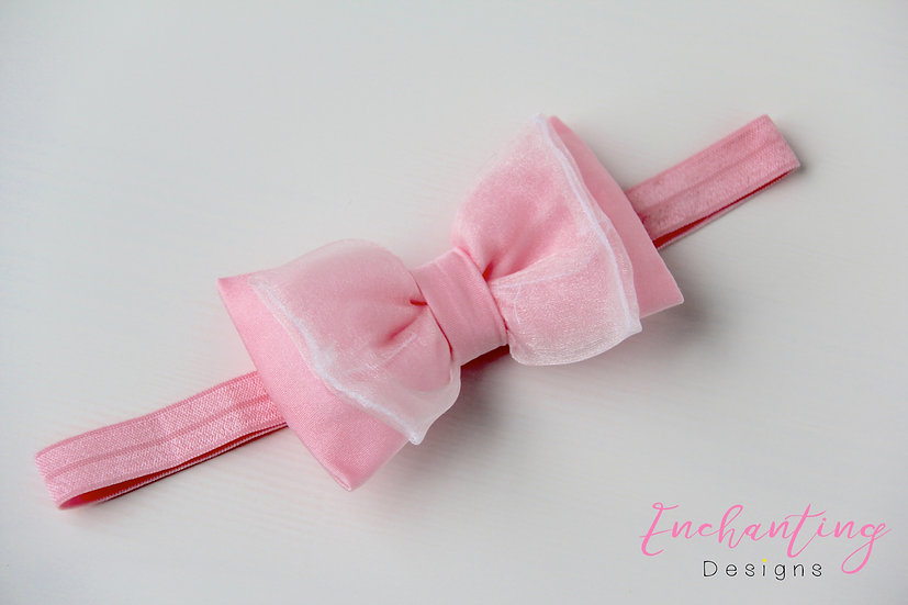 Pink Fairy Headband